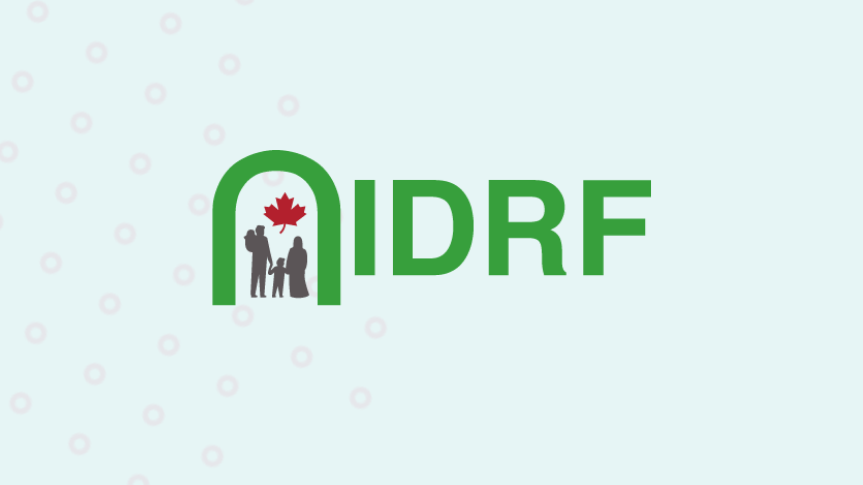 Togetherall Graphic with IDRF Logo