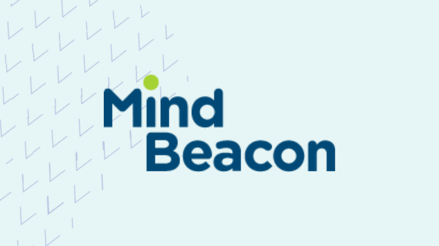 Togetherall Graphic with MindBeacon Logo