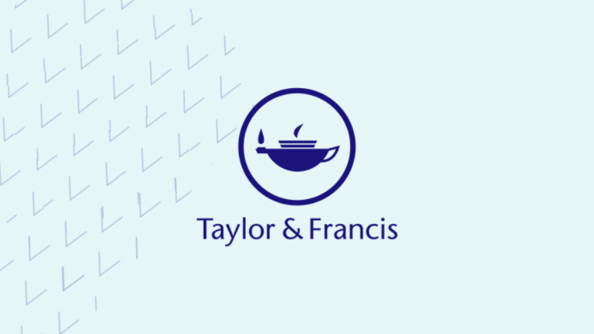 T and F logo with background