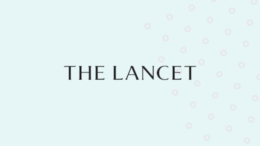 Lancet logo with background