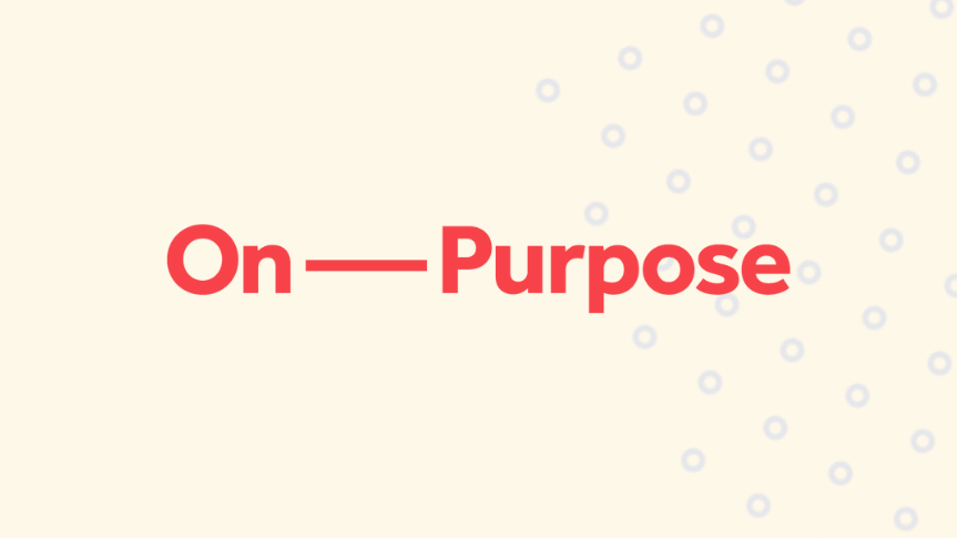 Togetherall Graphic with On Purpose Logo