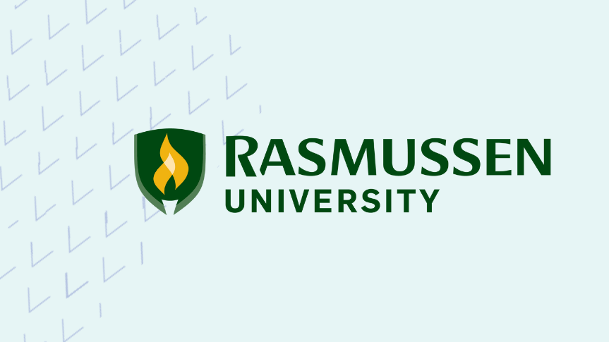Togetherall Graphic with Rasmussen University Logo