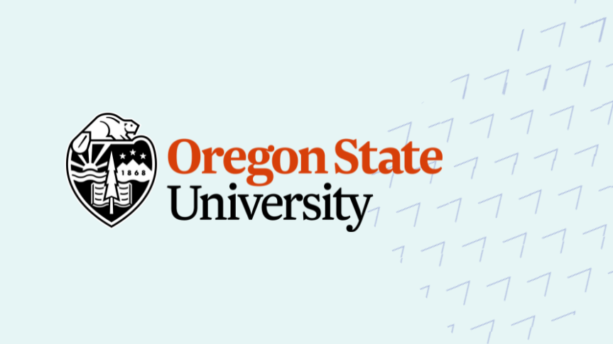 Togetherall Graphic with Oregon State University Logo