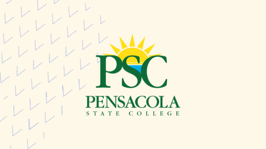 Togetherall Graphic with Pensacola State University Logo