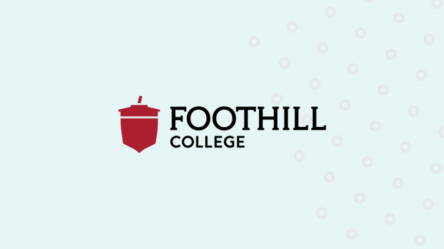 Togetherall Graphic with Foothill College Logo
