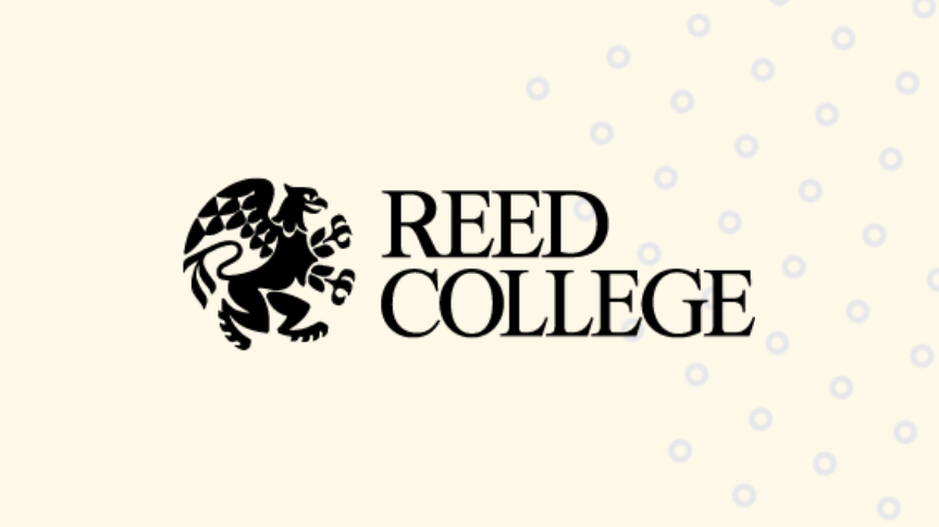 Togetherall Graphic with Reed College Logo