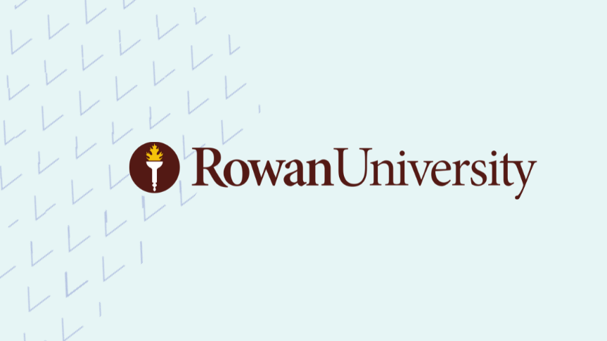 Togetherall graphic with Rowan University Logo